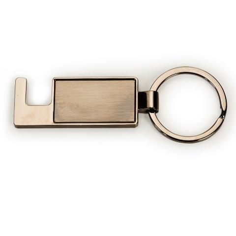 Chaveiro Porta Celular de Metal