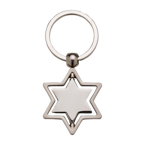 Chaveiro Estrela Giratória