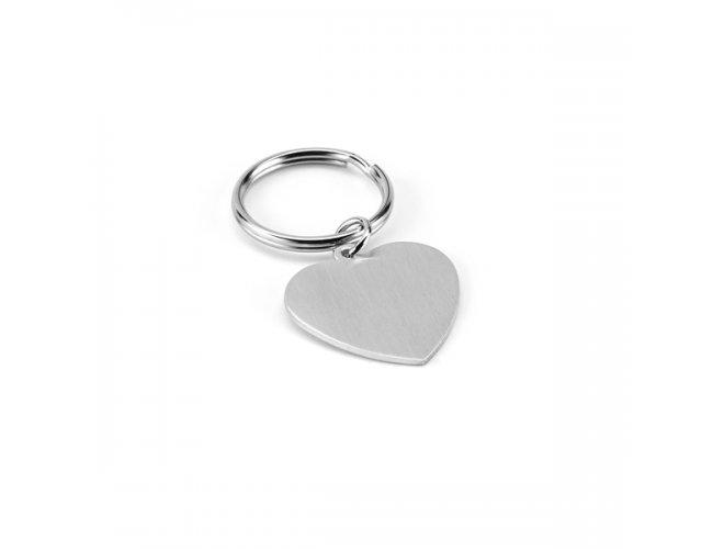 Chaveiro Coração em Alumínio