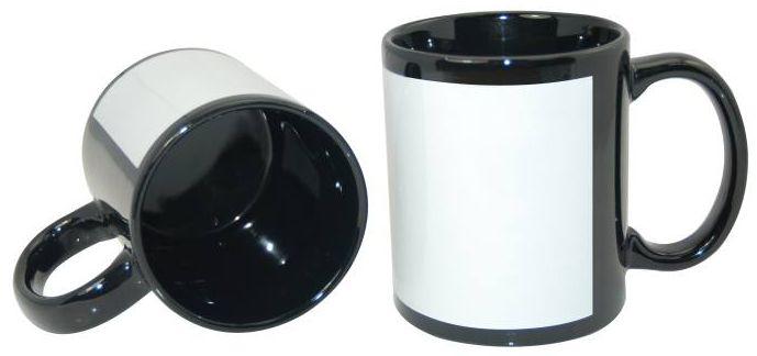 Caneca de Cerâmica com Tarja (350ml)