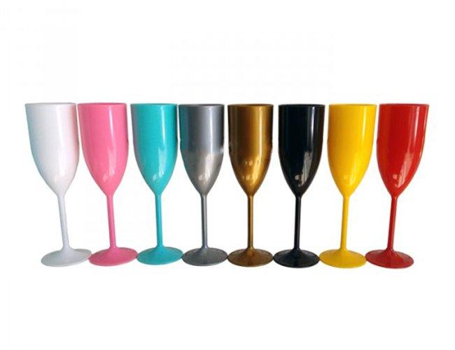 Taça de Champagne em Cores (170 ml)