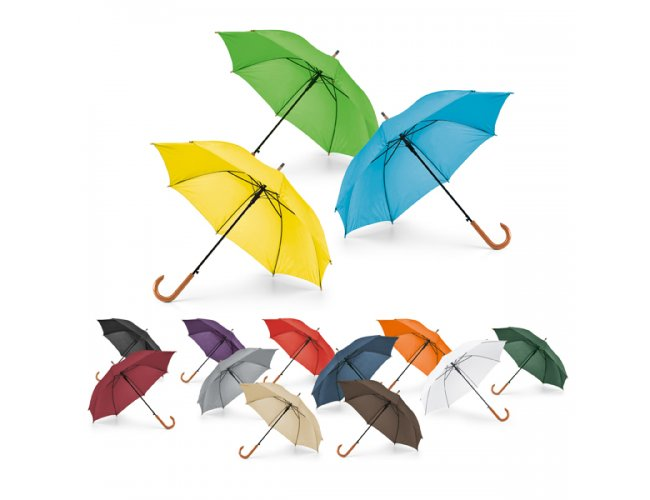 Guarda-chuva com Pega de Madeira