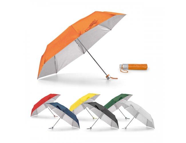Guarda-chuva dobrável em Bolsa