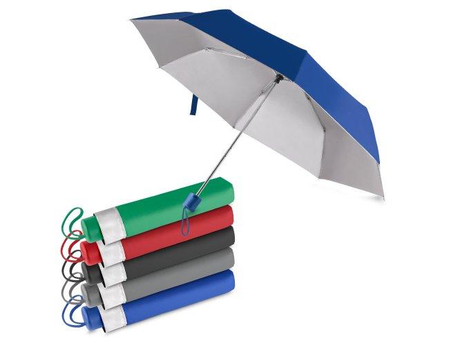 Guarda-chuva Colorido com Interior Branco