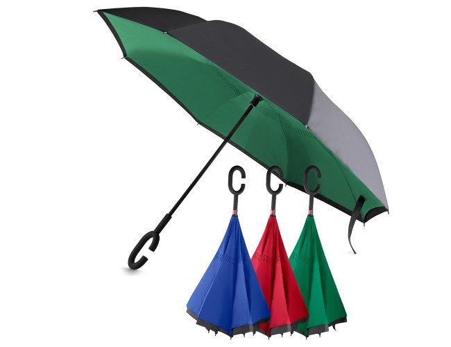 Guarda-chuva Invertido com uma Face Preta