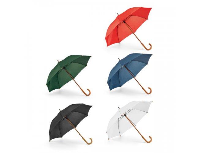 Guarda-chuva Haste e Pega Madeira