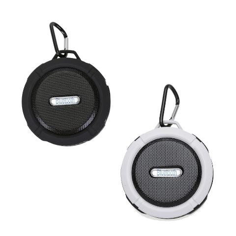 Caixinha de Som à Prova DÁgua com Ventosa com Cabo USB