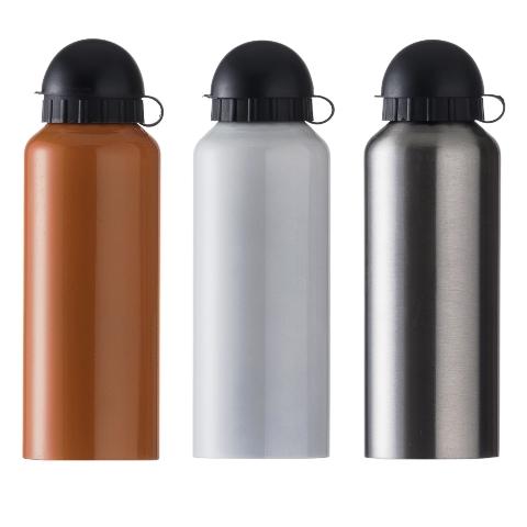 Squeeze de Alumínio Metalizada com Bico (500ml)