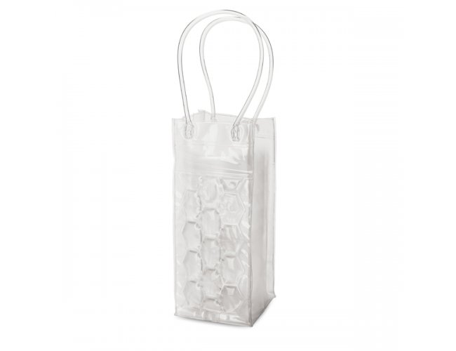Sacola Refrigeradora Plástica Transparente para Garrafa