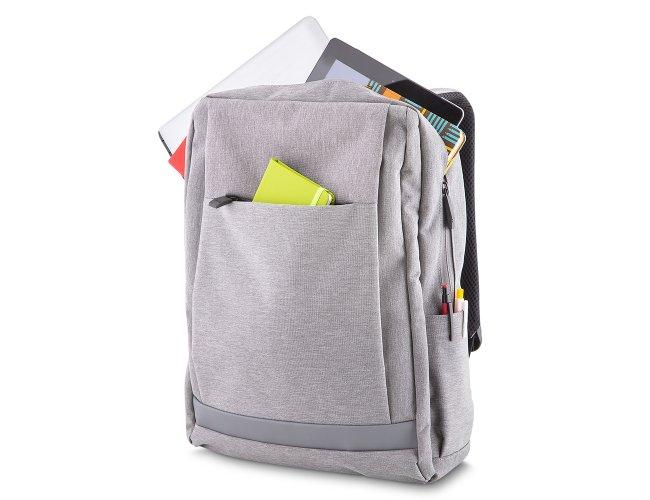 Mochila para Notebook em Poliéster com Conector Externo
