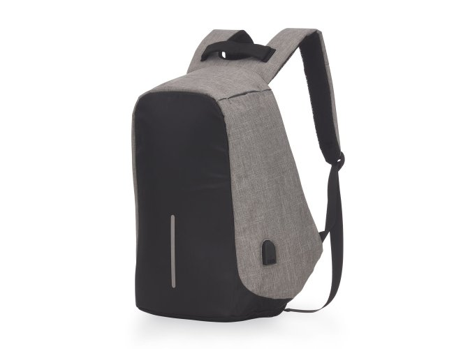 Mochila para Notebook Anti-furto com Conector USB