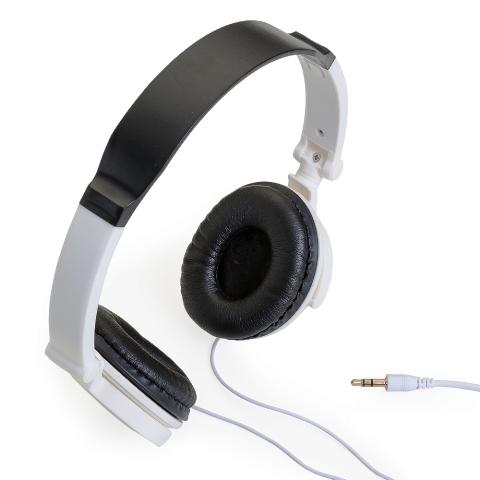 Fone de Ouvido Articulável com Auricular Branca