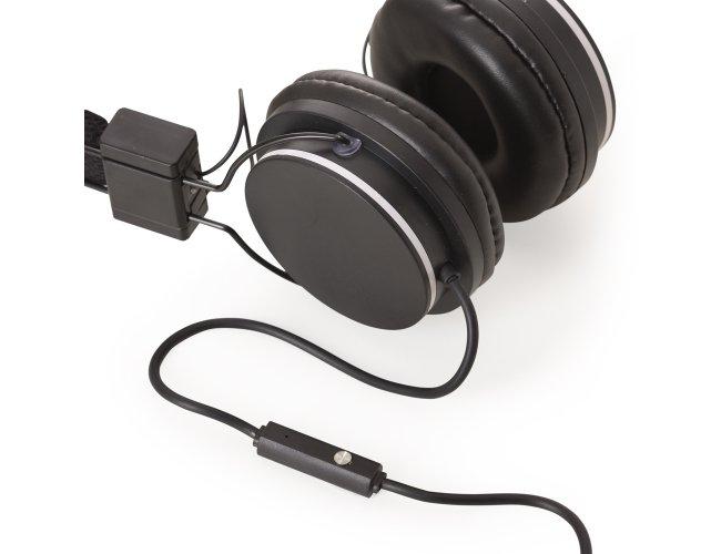 Fone de Ouvido Articulável com Alça Ajustável