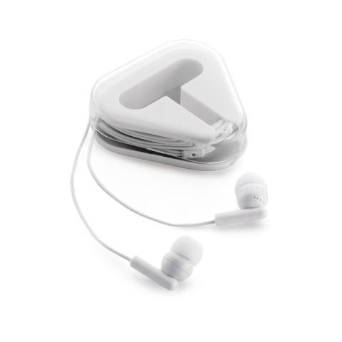 Fone de ouvido em Caixa Triangular