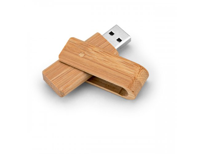 Pen Drive 8GB Bambu Giratório