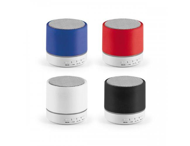 Caixa de Som com Microfone em Plástico e Borracha