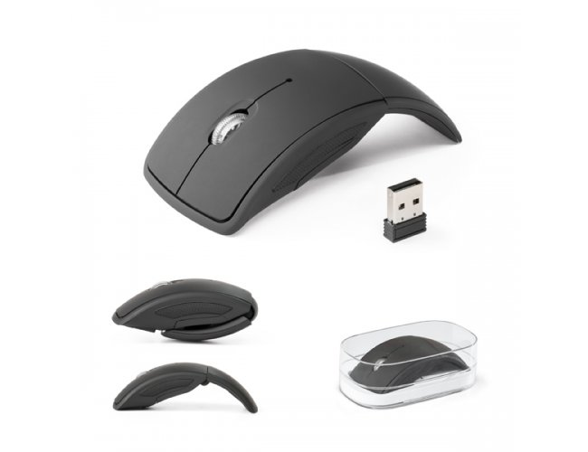 Mouse Wireless Dobrável 2.4G