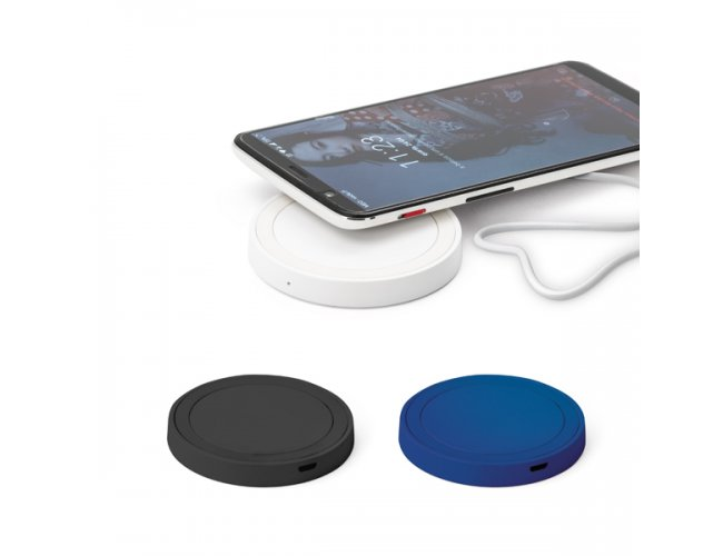 Carregador Wireless Fast em ABS e Silicone