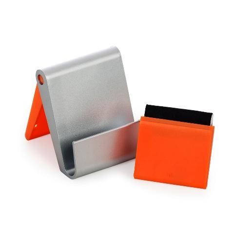 Porta Celular de Mesa com Limpador de Tela
