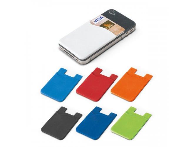 Porta Cartões para Smartphone Silicone