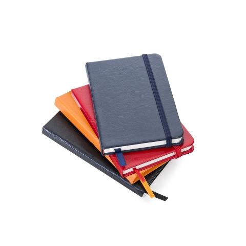 Caderneta Moleskine Pequena de Courino em Cores com Pauta