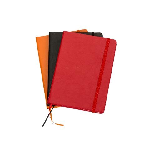 CadernetaMoleskine de Courino em Cores com Pauta