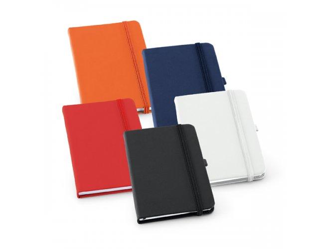 Caderno Capa Dura em Material Sintético