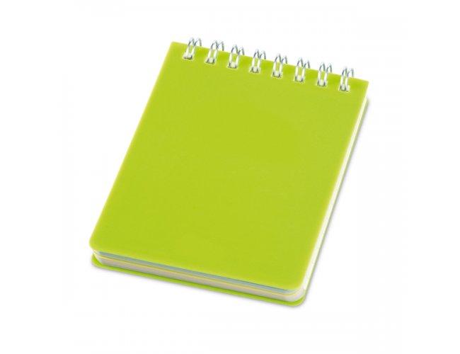 Caderno com Capa Plástica Pq.