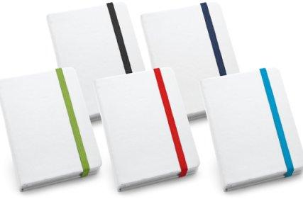 Caderno Capa Dura Branco A6