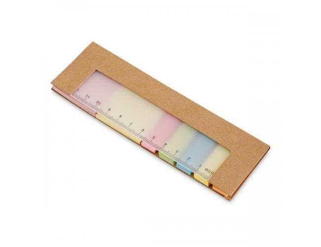 Caderno em Cartão com Régua