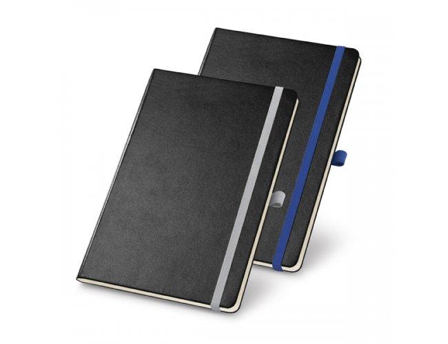 Caderno Capa Dura Sóbrio Com Porta Esferográfica