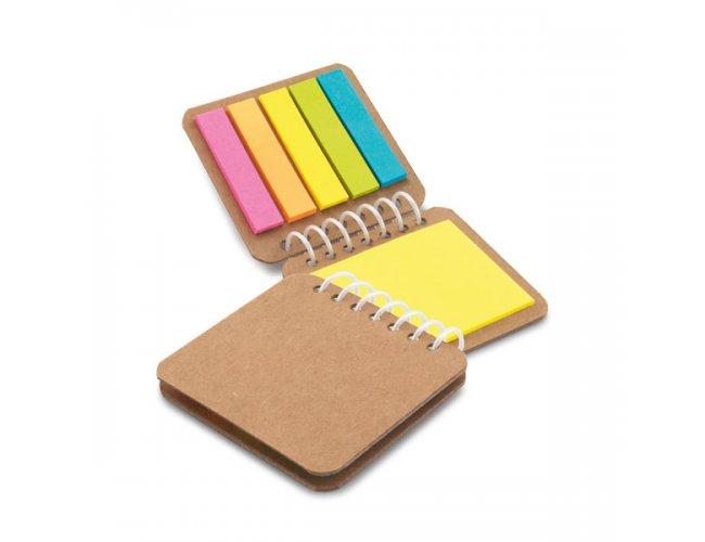 Caderninho com Adesivos