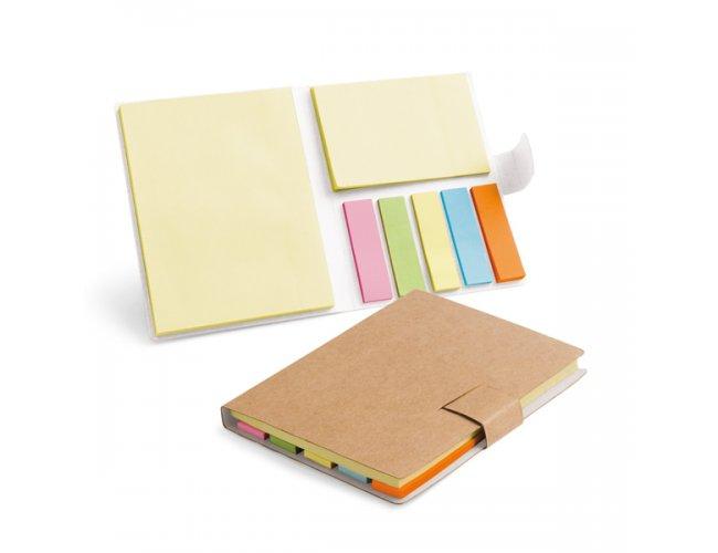 Caderno Cartão com Adesivo