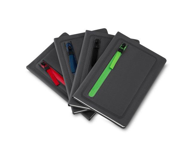 Cadernos com Porta Objetos na Capa