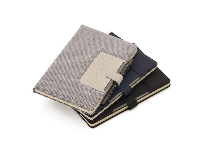 Caderno com Fechamento Magnético