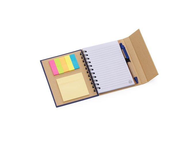 Caderneta Ecológica com Caneta Ecológica e Autoadesivo