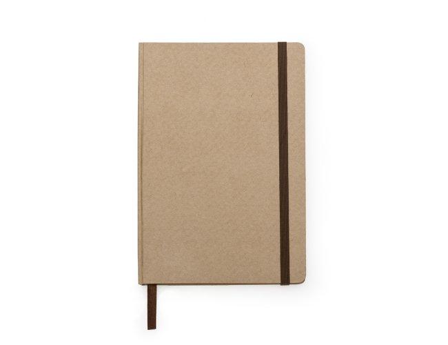 Caderneta tipo Moleskine em Kraft