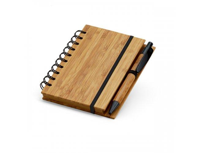 Caderno de Bambu A6
