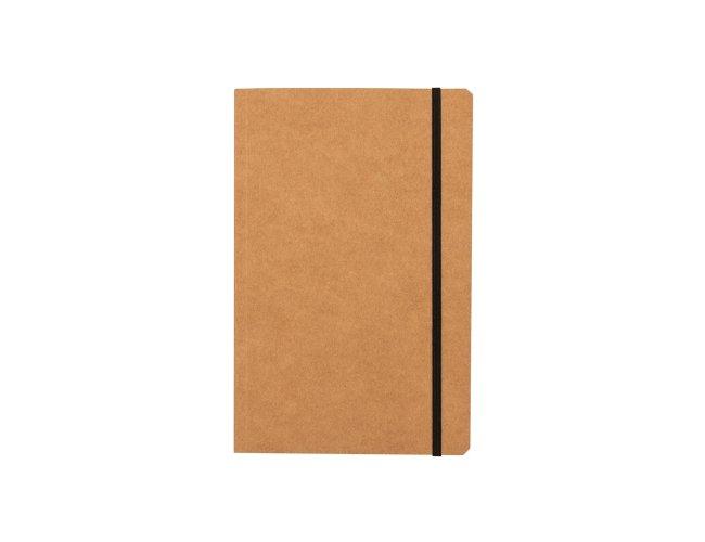 Caderno Kraft Quadriculado Ecológico