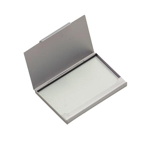 Porta Cartão de Bolso de Alumínio Fosco
