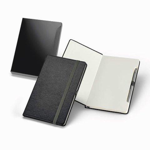 Caderno com Capa de Material Sintético