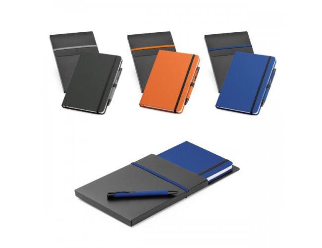 Kit Escritório 02 peças (Caderno e Caneta)