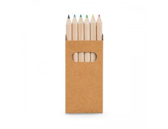 Caixa com 6 Mini Lápis