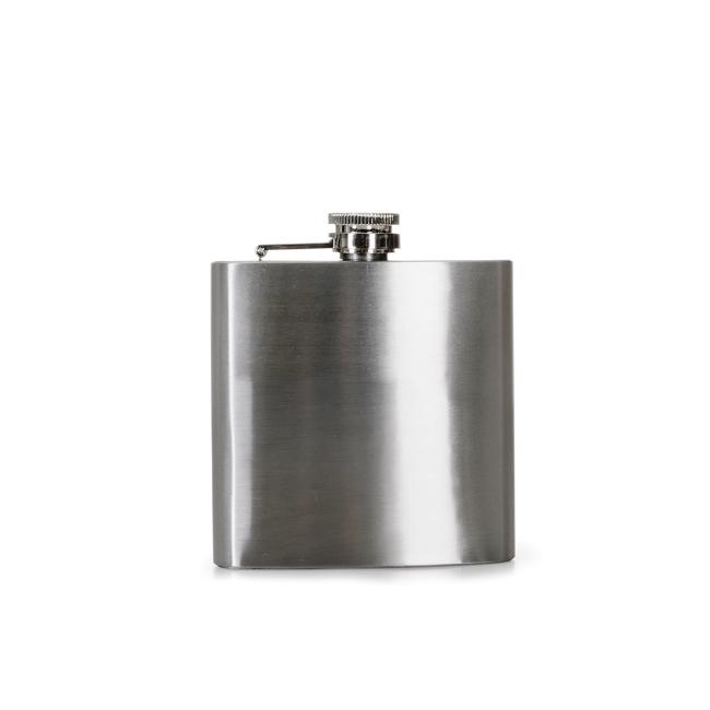 Porta Whisky de Inox (6oz)