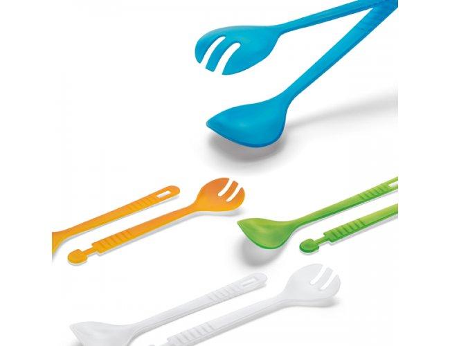 Conjunto Talheres para Salada em Plástico
