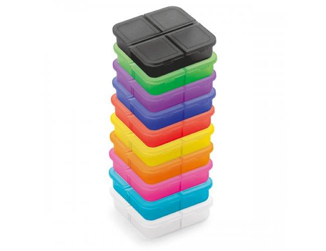 Porta Comprimidos Coloridos