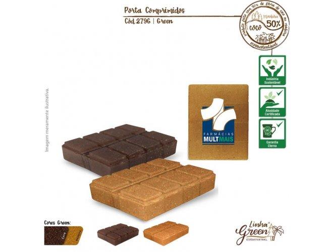 Porta Comprimido GREEN