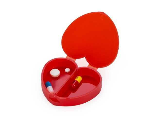 Porta Comprido Plástico Coração