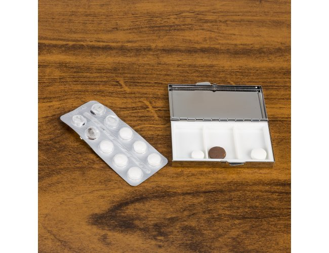 Porta Comprimido Metal