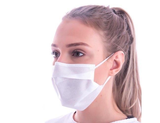 Máscara Descartável SMMMS com Clipe Nasal (5 camadas)